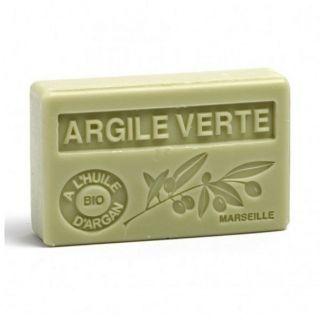 Jabón Marsella de Arcilla Verde - pastilla de 125 gramos