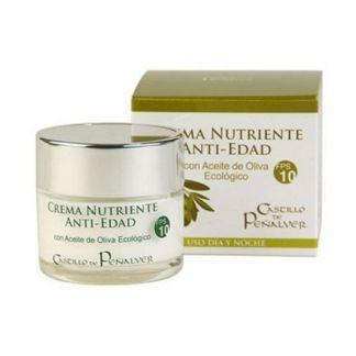 Crema Antiedad FPS 10 de Aceite de Oliva Castillo de Peñalver - 50 ml.