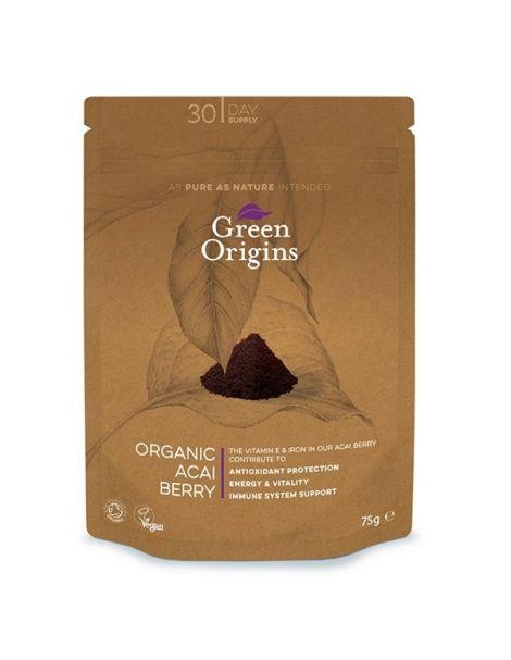 Açai en Polvo Green Origins - 75 gramos