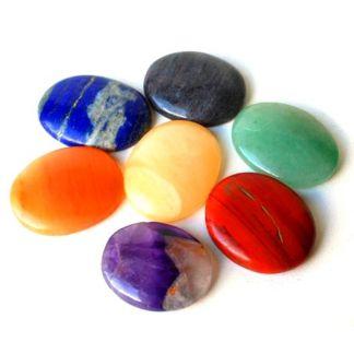 Set Siete Gemas para Chakras