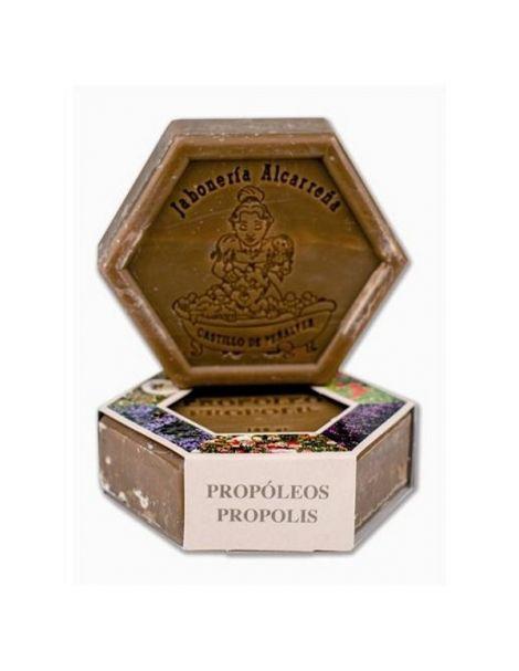 Jabón del Apicultor Hexagonal de Propóleo Castillo de Peñalver - 100 gramos
