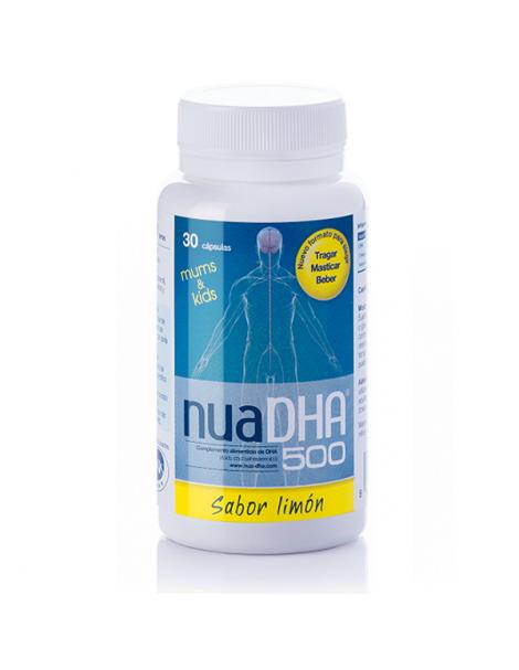NuaDha 500 mg. Sabor Limón Nua - 30 cápsulas