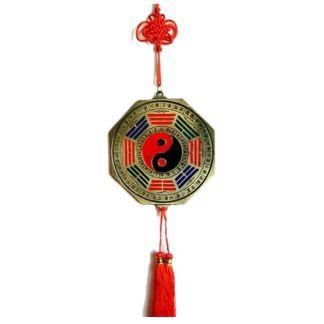 Medallón Bagua Protector Metal