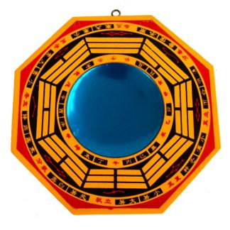Medallón Bagua Protector Madera
