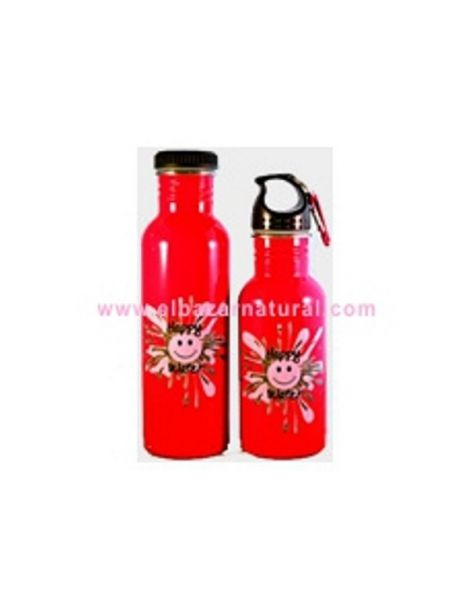 Botella Happy Water Roja - 500 ml.