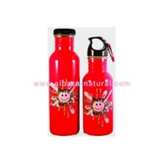 Botella Happy Water Roja - 750 ml.