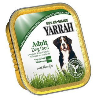 Tarrina para Perros Vegetariana Bio Yarrah - 150 gramos
