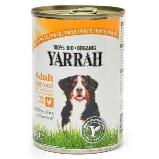 Comida para Perros en Lata con Pollo Bio Yarrah - 400 gramos