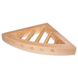 Jabonera Triangular Madera