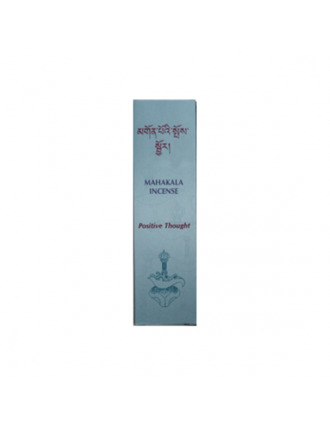 Incienso Tibetano Mahakala Pensamiento Positivo - caja de 20 barritas