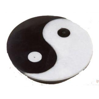 Soporte para Incienso Redondo Yin-Yang Mármol