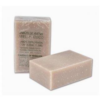 Jabón de Avena y Miel con esencia de Coco Castillo de Peñalver - 100 gramos