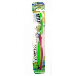 Cepillo Dental Nylon Medio Yaweco