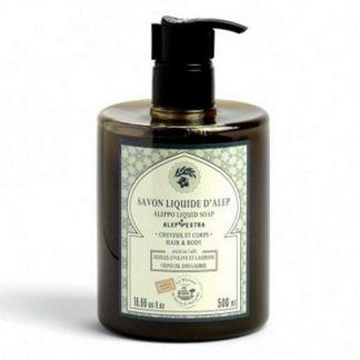 Jabón de Alepo Líquido - envase de 500 ml.