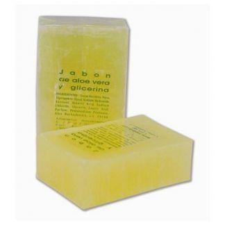 Jabón de Aloe Vera y Glicerina Castillo de Peñalver - 125 gramos