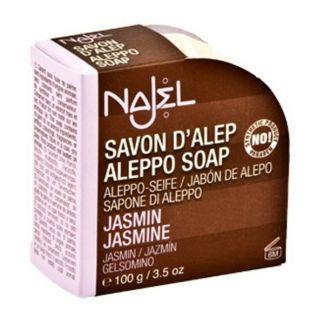 Jabón de Alepo con Jazmín Najel - pastilla de 100 gramos