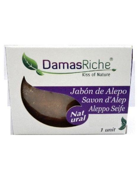 Jabón de Alepo 35% Damasriche - pastilla de 200 gramos