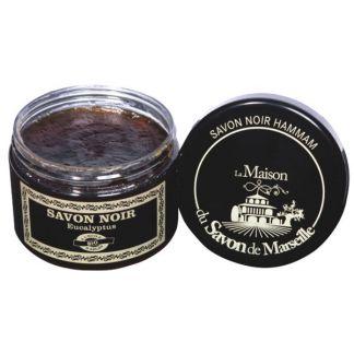 Jabón Negro Hammam con Argán - 300 ml.