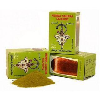 Henna Natural Sahara Tazarine - 100 gramos