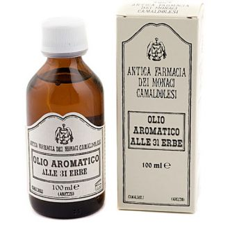 Aceite 31 Hierbas Antica Farmacia del Monaci Camaldolesi - 100 ml.