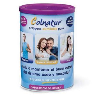 Colnatur Colágeno Clásico Sabor Frutas del Bosque - 300 gramos