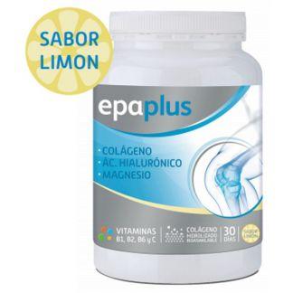 Colágeno y Ácido Hialurónico con Magnesio Sabor Limón Epaplus - 332 gramos