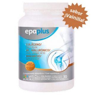 Colágeno y Ácido Hialurónico con Magnesio Sabor Vainilla Epaplus - 325 gramos