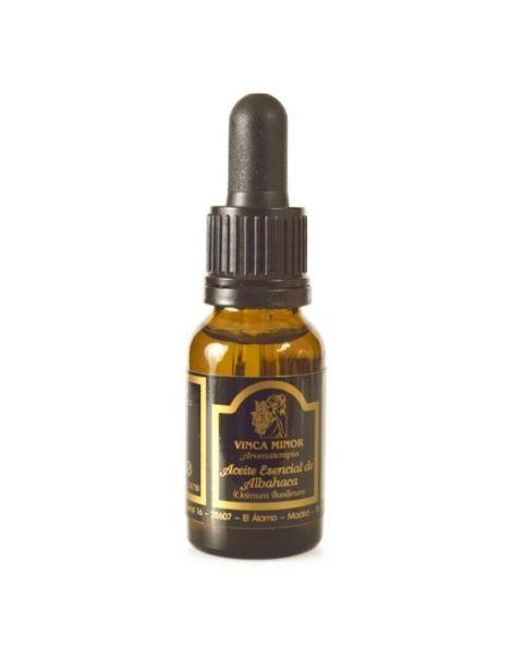 Aceite Esencial de Albahaca Vinca Minor - 17 ml.