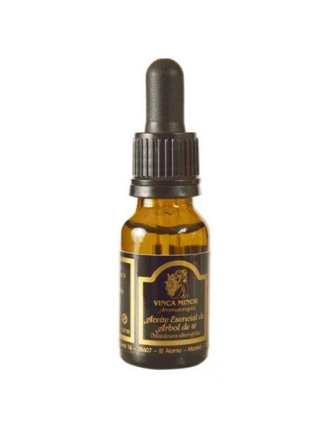 Aceite Esencial de Árbol del Té Vinca Minor - 17 ml.