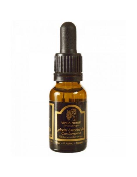 Aceite Esencial de Cardamomo Vinca Minor - 17 ml.