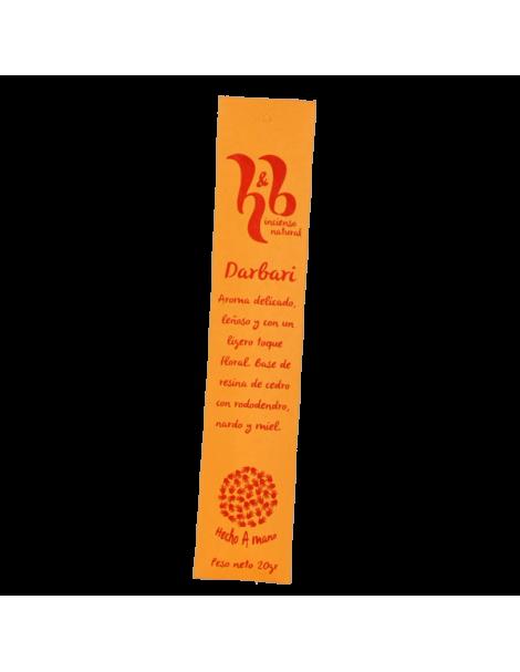 Incienso Darbari H&B - 20 gramos