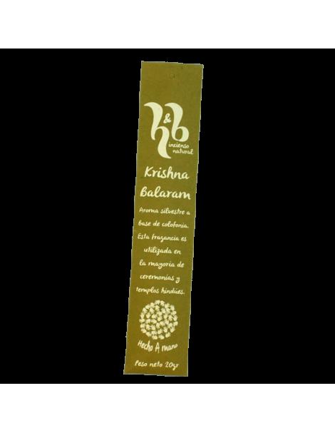 Incienso Krishna Balaram H&B - 20 gramos