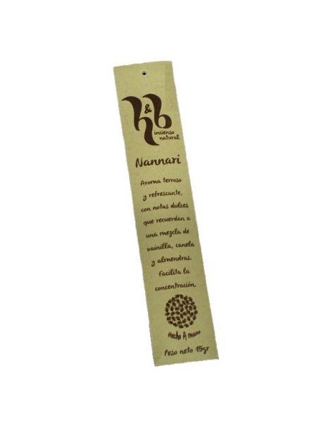Incienso Nannari H&B - 15 gramos