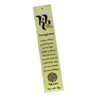 Incienso Frangipani H&B - 15 gramos