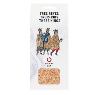 Incienso en Grano Tres Reyes + Carbón Tierra Zen - 30 gramos