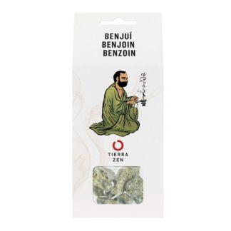 Incienso en Grano Benjuí + Carbón Tierra Zen - 20 gramos