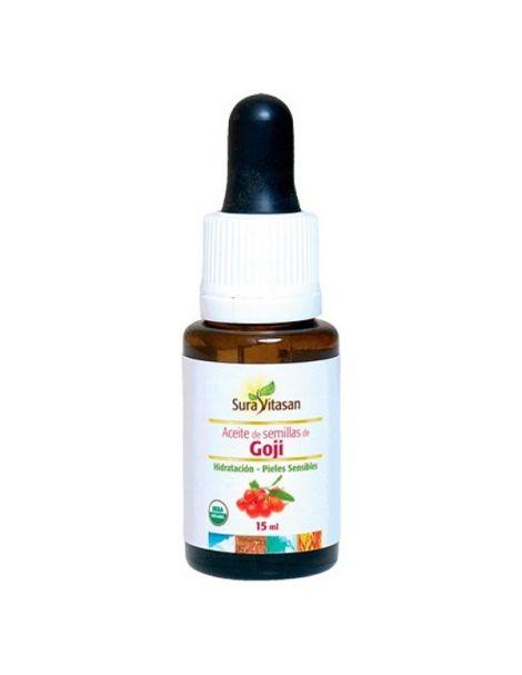 Aceite de Semillas de Goji Sura Vitasan - 15 ml.