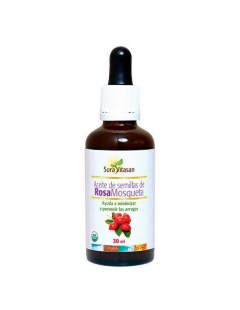 Aceite de Semillas de Rosa Mosqueta Sura Vitasan - 30 ml.