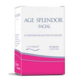 Age Splendor Facial Naturlíder - 60 cápsulas