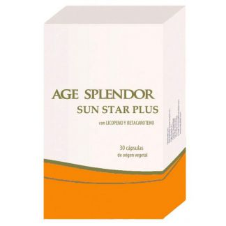 Age Splendor Sun Star Plus Naturlíder - 30 cápsulas