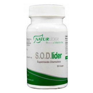 S.O.D.Líder Superoxido Dismutasa Naturlíder - 30 cápsulas