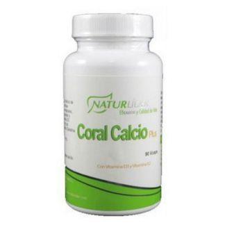 Coral Calcio Plus Naturlíder - 90 cápsulas