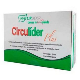 Circulíder Plus Naturlíder - 20 viales x 10 ml.