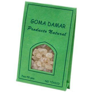 Incienso en Grano Resina de Goma Damar Auroshikha - 50 gramos