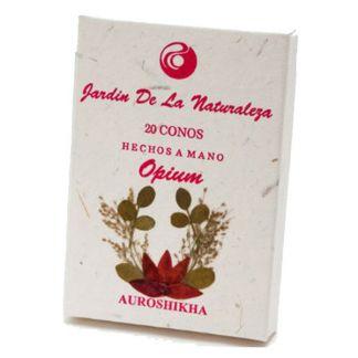 Incienso Opium (Jardín de la Naturaleza) - 20 conos
