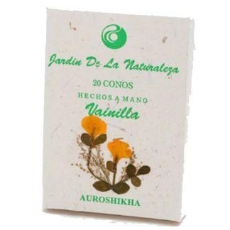 Incienso Vainilla (Jardín de la Naturaleza) - 20 conos