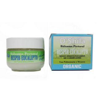 Bálsamo Pectoral Respir-Eucalipto D'Shila - 50 ml.