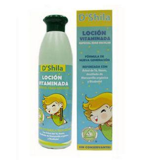 Loción Vitaminada Edad Escolar D'Shila - 250 ml.