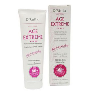 Crema Anti-Edad Age Extreme (SPF 50+) D'Shila - 50 ml.
