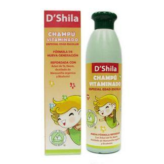 Champú Vitaminado Edad Escolar D'Shila - 250 ml.
